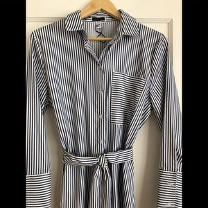 Another Story stripped shirt dress